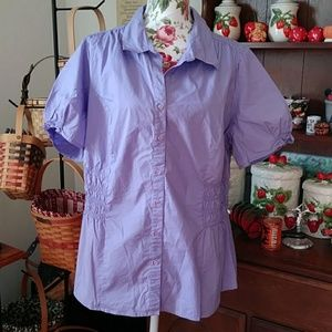 Venezia button down blouse. Size 18/20